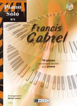 Piano Solo N° 5 - 10 pièces spécialement adaptées pour piano - laflutedepan.com