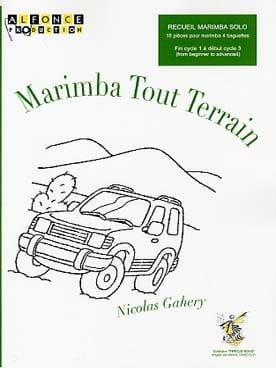 Marimba Tout Terrain Nicolas Gahery Partition Marimba - laflutedepan