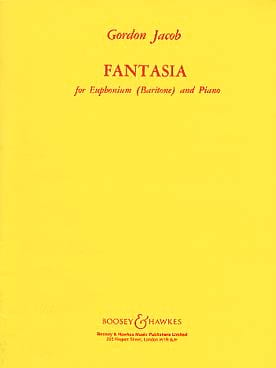 Fantasia Gordon Jacob Partition Tuba - laflutedepan