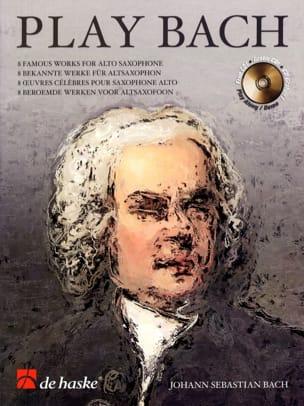 Play Bach BACH Partition Saxophone - laflutedepan