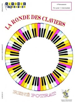 La Ronde des Claviers René Potrat Partition laflutedepan