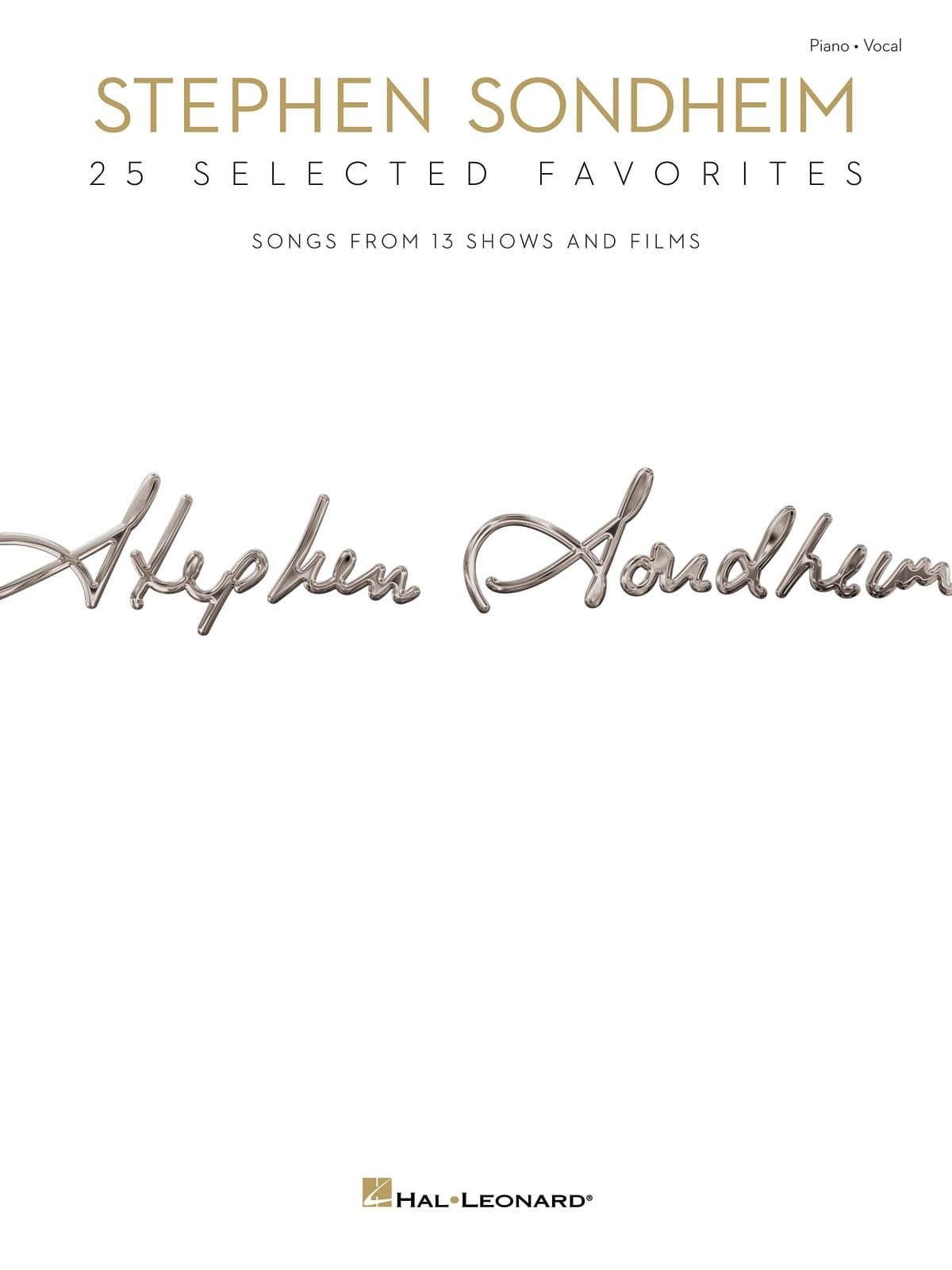 Stephen Sondheim - 25 Selected Favorites - laflutedepan.com