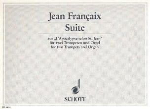 Suite FRANÇAIX Partition Trompette - laflutedepan
