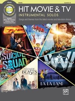 Hit Movie & TV Instrumental Solos - Violon Partition laflutedepan