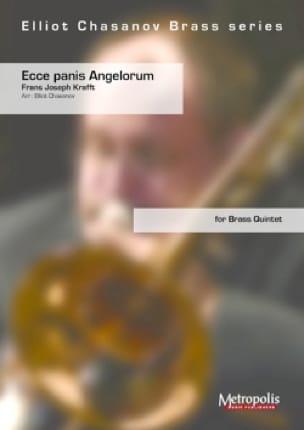 Ecce Panis Angelorum, pour quintette de cuivres - laflutedepan.com