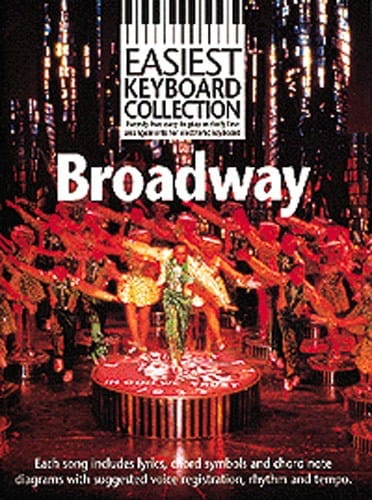 Easiest Keyboard Collection - Broadway - laflutedepan.com