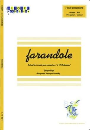Farandole - L'arlesienne - BIZET - Partition - laflutedepan.com
