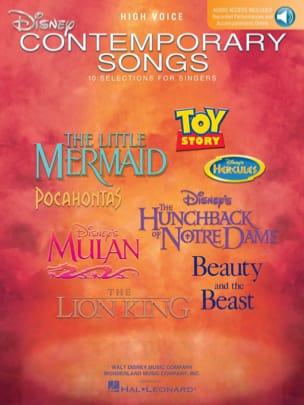 Disney Contemporary Songs - High Voice DISNEY Partition laflutedepan