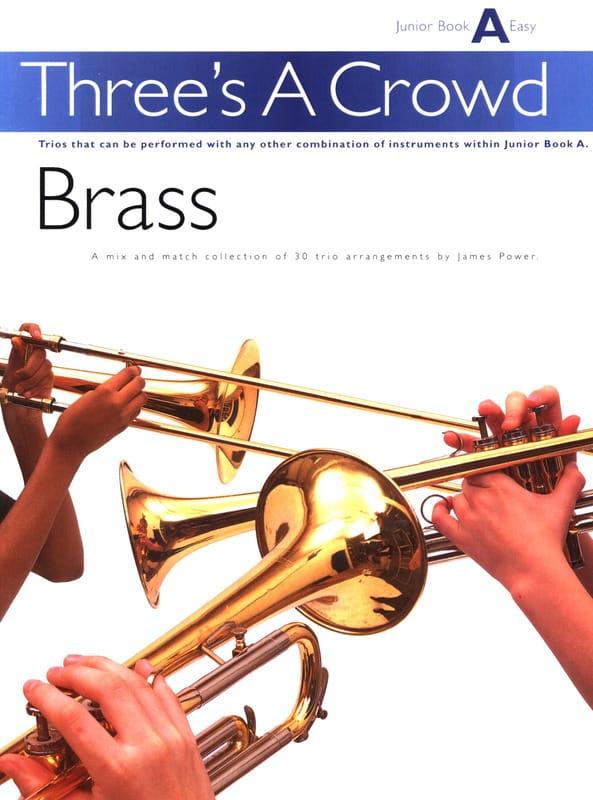 Three's A Crowd Junior Book A Easy - Partition - laflutedepan.com
