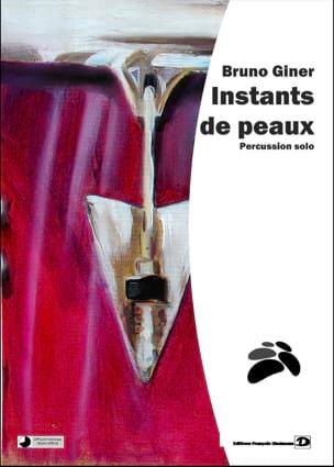 Instants de peaux Bruno Giner Partition laflutedepan