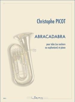 Abracadabra Christophe Picot Partition Tuba - laflutedepan