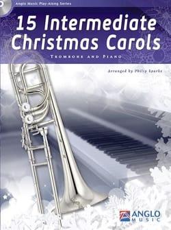 15 Intermediate Christmas Carols Noël Partition laflutedepan