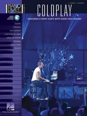 Piano Duet Play-Along Volume 45 - Coldplay - laflutedepan.com