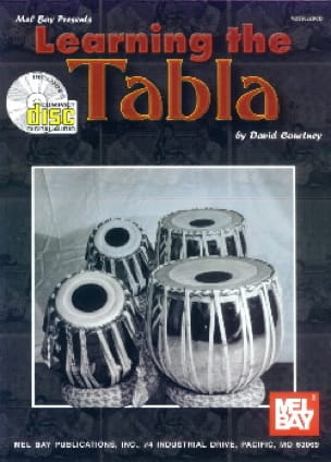 Learning The Tabla - David Courtney - Partition - laflutedepan.com