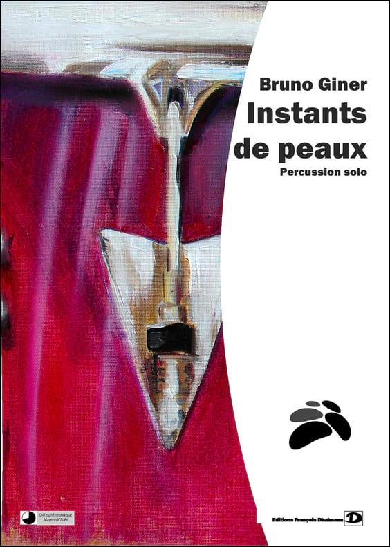 Instants de peaux - Bruno Giner - Partition - laflutedepan.com