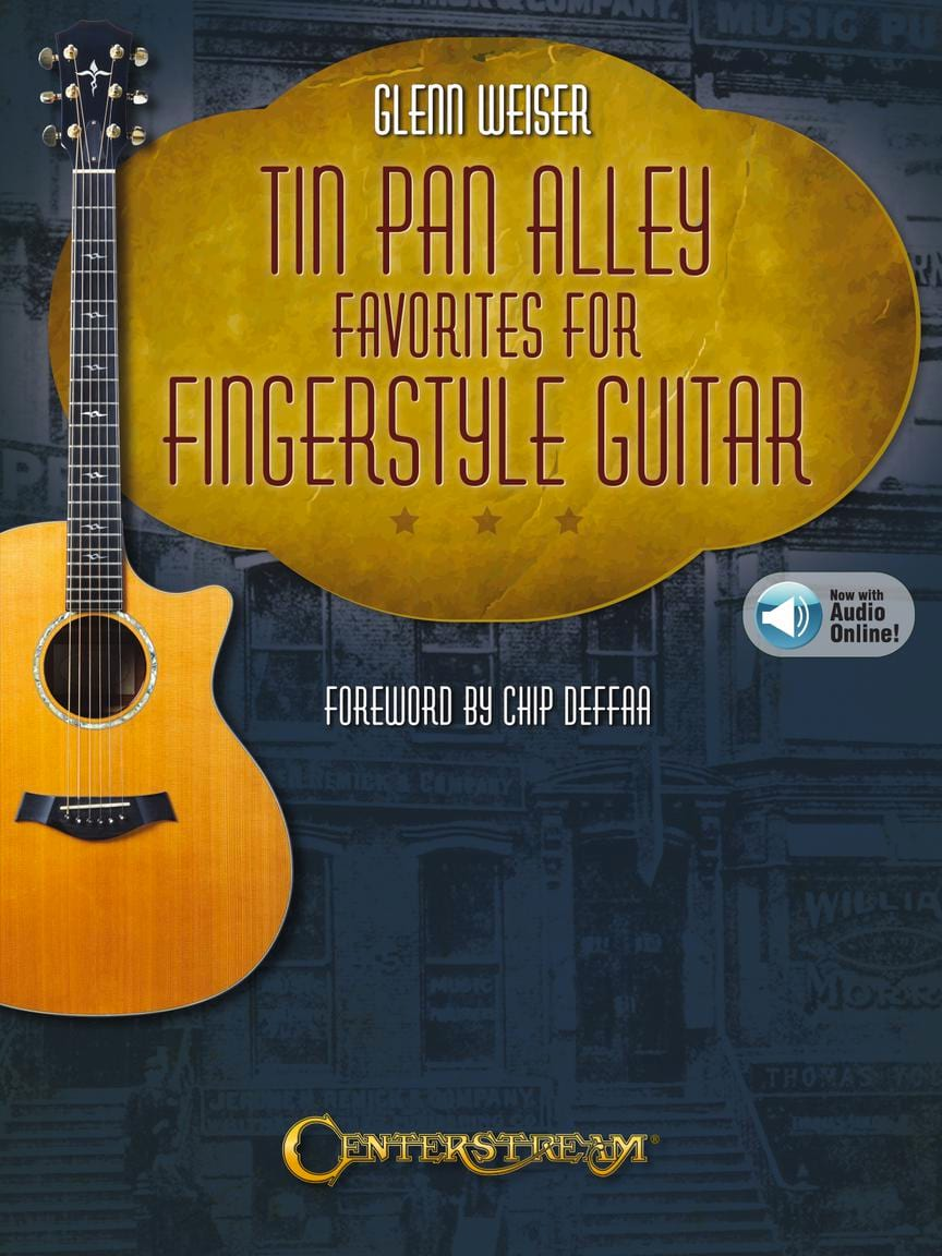 Tin Pan Alley Favorites for Fingerstyle Guitar - laflutedepan.com