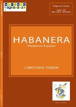 Habanera Christophe Torion Partition Vibraphone - laflutedepan