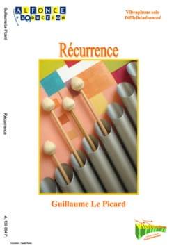 Récurrence Picard Guillaume Le Partition Vibraphone - laflutedepan