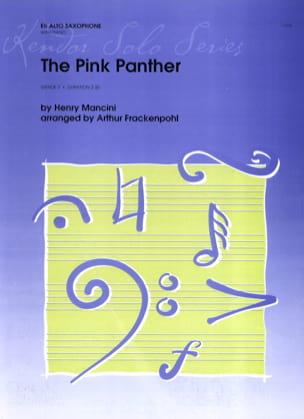 The Pink Panther - MANCINI - Partition - Saxophone - laflutedepan.com