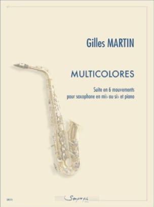 Multicolores - Gilles Martin - Partition - laflutedepan.com