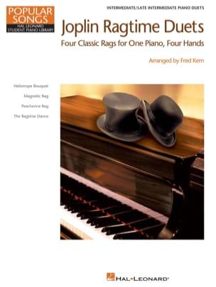 Joplin ragtime duets JOPLIN Partition Piano - laflutedepan