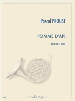 Pomme d'api Pascal Proust Partition Cor - laflutedepan