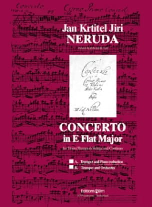 Concerto In E Flat Major - J.K.J. Neruda - laflutedepan.com