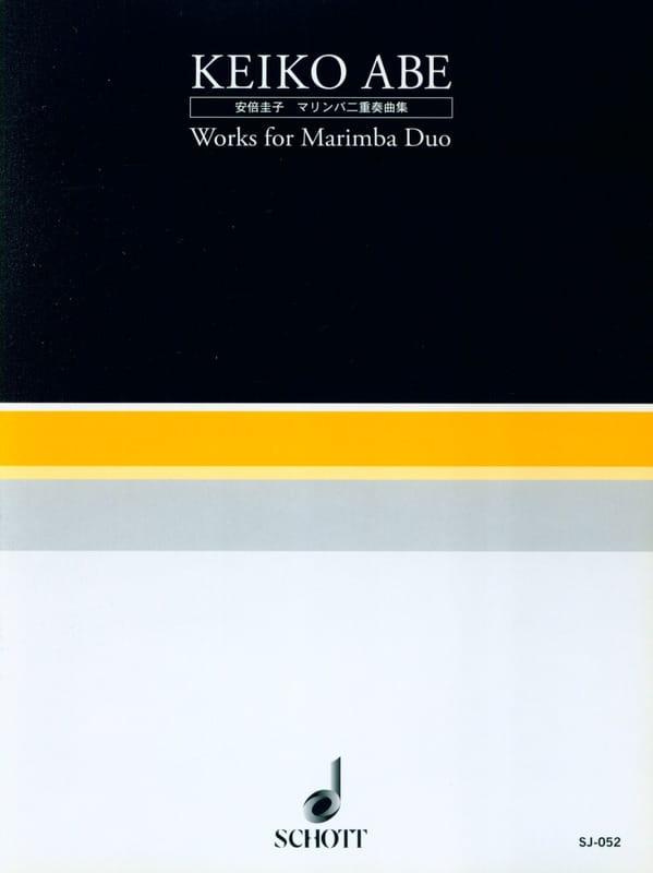 Works for Marimba Duo - Keiko Abe - Partition - laflutedepan.com