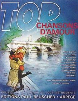 Top Chansons D'amour Partition Chanson française - laflutedepan