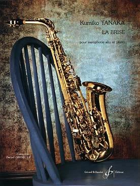 La Brise Kumiko Tanaka Partition Saxophone - laflutedepan