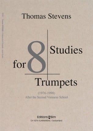 Studies For 8 Trumpets Thomas Stevens Partition laflutedepan