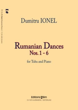 Rumanian Dances N° 1-6 Dumitru Ionel Partition Tuba - laflutedepan