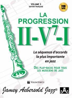 Volume 3 Edition Française avec 2 CDs - La progression II-V7-I - laflutedepan.com