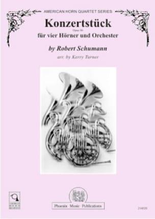Konzertstück opus 86 - SCHUMANN - Partition - Cor - laflutedepan.com
