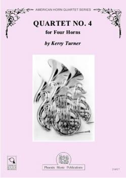Quartet N° 4 Kerry Turner Partition Cor - laflutedepan