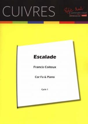 Escalade Francis Coiteux Partition Cor - laflutedepan