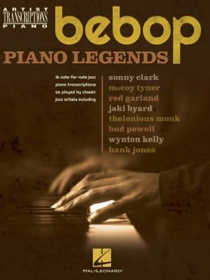 Bebop Piano Legends - Partition - Jazz - laflutedepan.com
