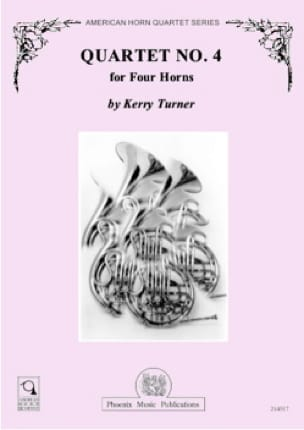 Quartet N° 4 - Kerry Turner - Partition - Cor - laflutedepan.com