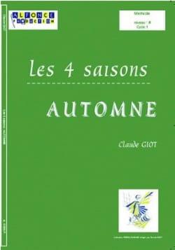 Les 4 Saisons - Automne Claude Giot Partition Batterie - laflutedepan