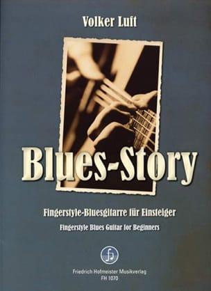 Blues-Story Volker Luft Partition Pop / Rock - laflutedepan