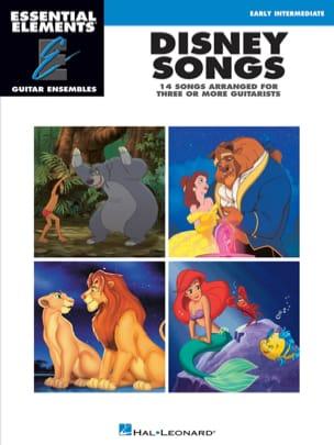 Disney Songs - 14 songs arranged for three or more guitarists laflutedepan