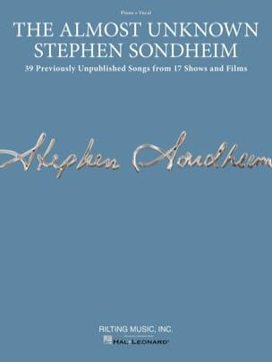 The Almost Unknown Stephen Sondheim Stephen Sondheim laflutedepan