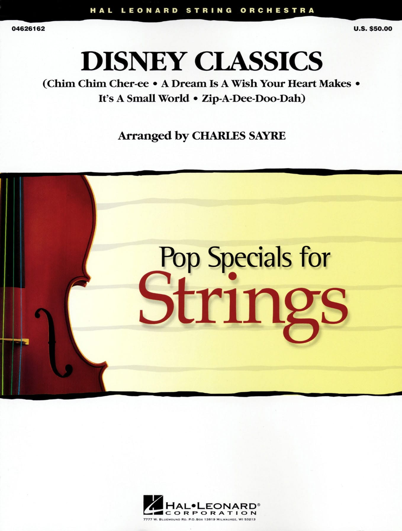 Disney Classics - Pop Specials For Strings - DISNEY - laflutedepan.com