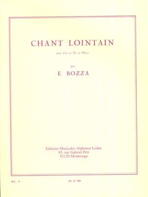 Chant Lointain Eugène Bozza Partition Cor - laflutedepan