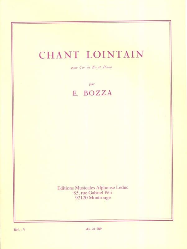 Chant Lointain - Eugène Bozza - Partition - Cor - laflutedepan.com