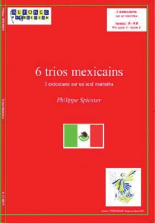 6 Trios Mexicains - Philippe Spiesser - Partition - laflutedepan.com