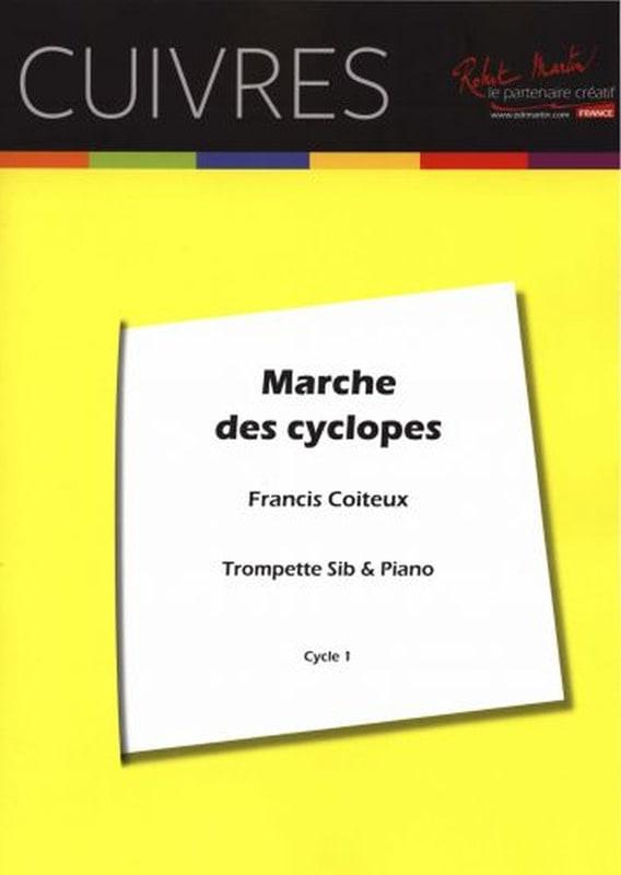 Marche des Cyclopes - Francis Coiteux - Partition - laflutedepan.com
