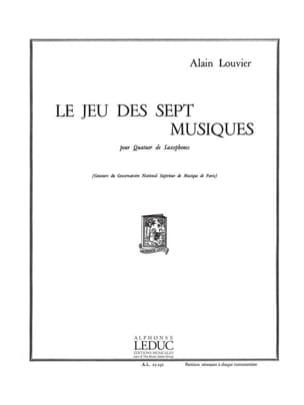 Le Jeu Des Sept Musiques Alain Louvier Partition laflutedepan