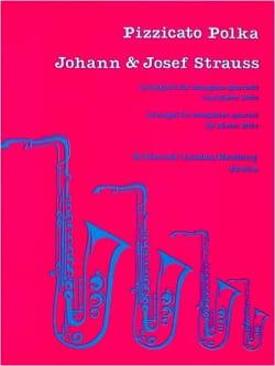 Pizzicato Polka Strauss Johann & Josef Partition laflutedepan