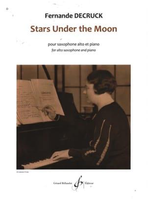 Stars under the moon Fernande Decruck Partition laflutedepan